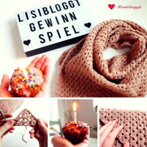 Lisibloggt Geburtstags-Gewinnspiel (Dreiecks-Häkeltuch)