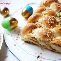 Rezept: Veganen Osterzopf mit Hefeteig backen