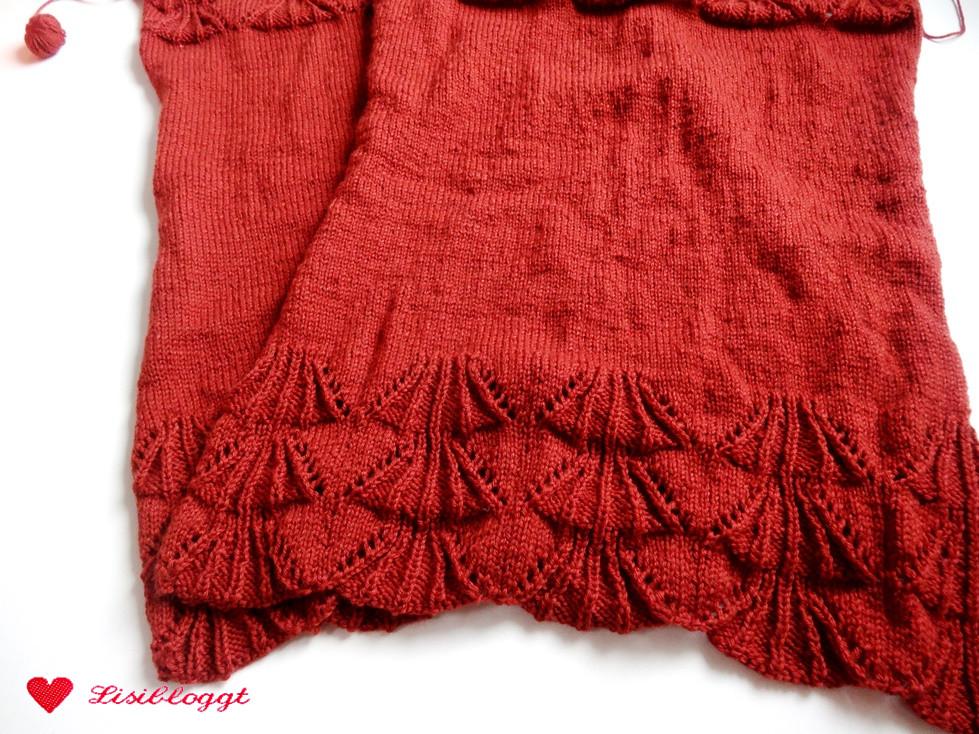 Anleitung: Einfachen Pullover mit Ajourmuster stricken | Lisibloggt