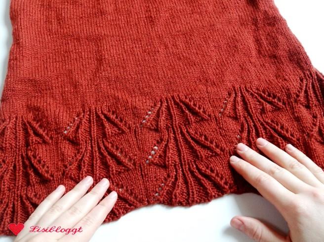 Anleitung: Einfachen Pullover mit Ajourmuster stricken