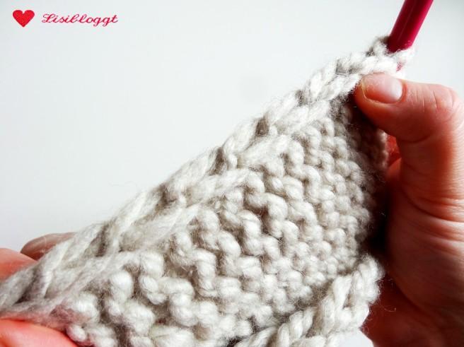 Lisitipps: Randmaschen im Kettrand stricken