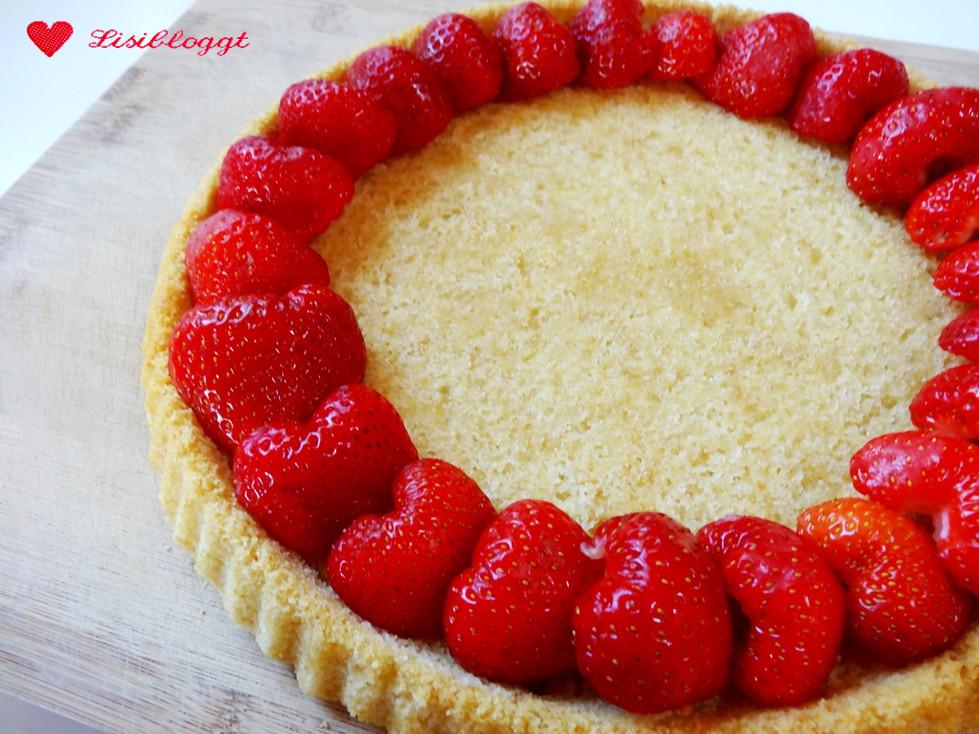 Rezept Veganer Erdbeerkuchen Mit Mürbteigboden Lisibloggt