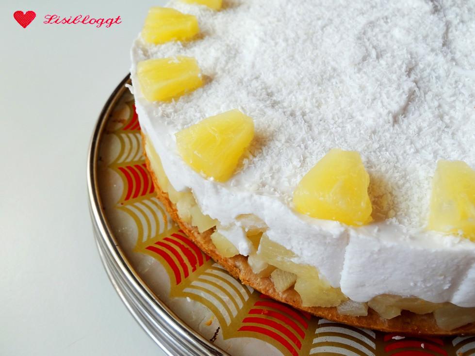 Rezept Vegane Pina Colada Torte Lisibloggt