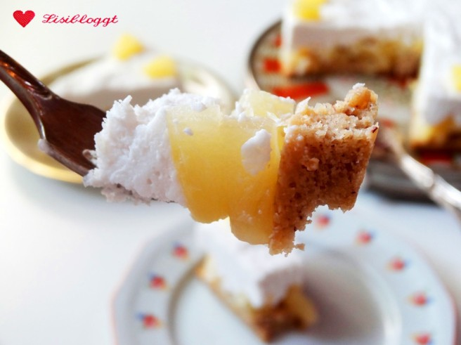 Rezept: Vegane Piña Colada Torte