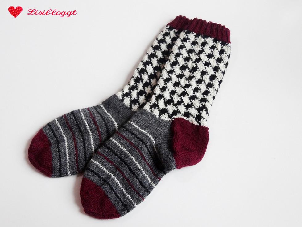 Magnificent Frei Gestrickte Socke Muster Vignette - Decke Stricken ...