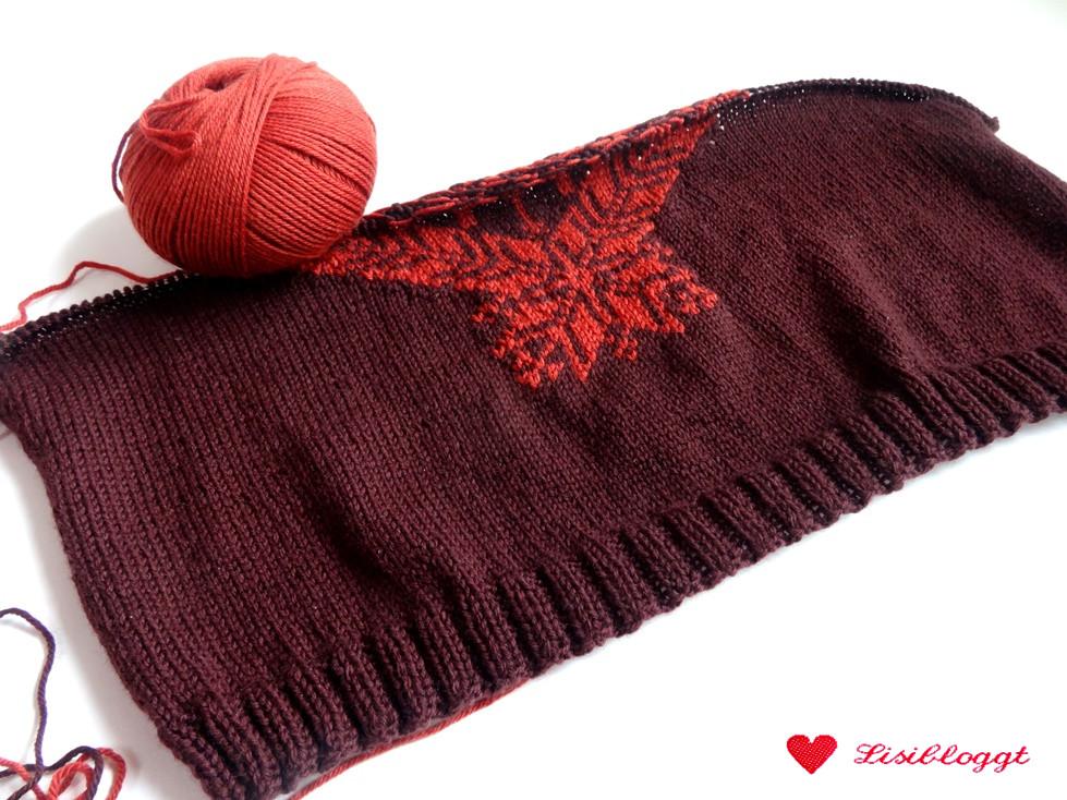 Anleitung: Pullover mit Hirschmuster stricken | Lisibloggt
