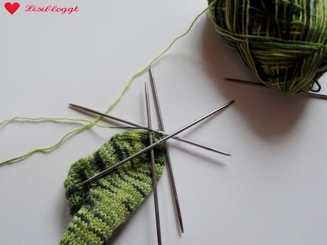 Anleitung: Einfache Baby-Socken stricken