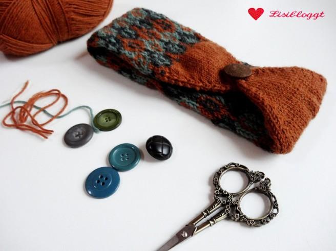 Talimatlar: Üç renkli düğme ile Norveç bandı