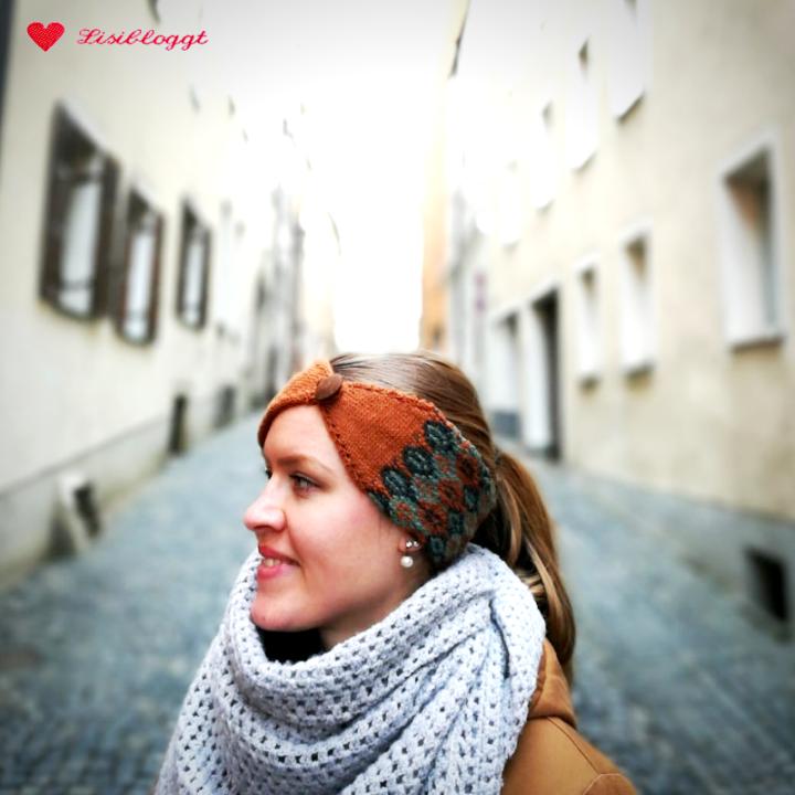 bester Platz neueste eine große Auswahl an Modellen Anleitung: Dreifarbiges Norweger-Stirnband mit Knopf ...