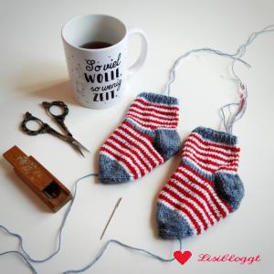 Lisitipps: Fäden vernähen bei gestrickten Socken