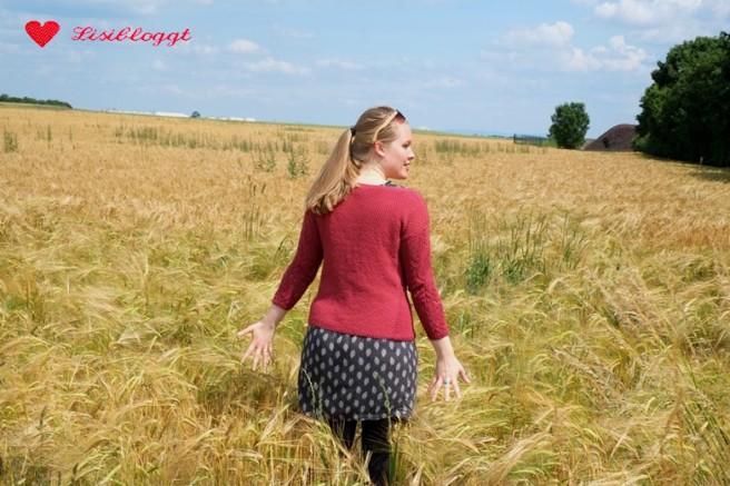 "Anleitung: ""Kornfeld-Pullover"" stricken"