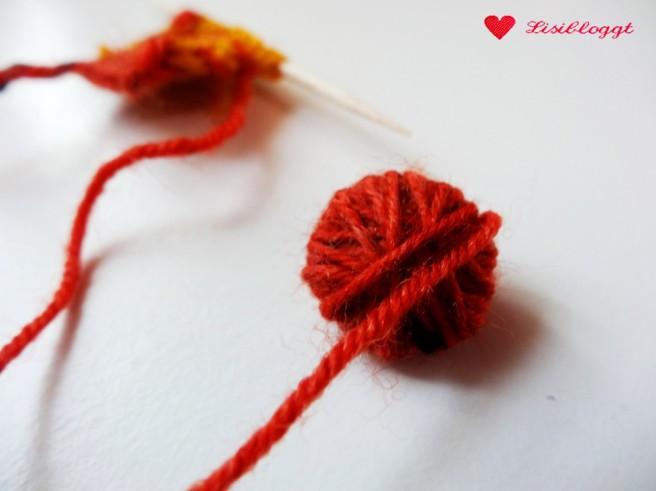 Anleitung: Bastelkarten mit Mini-Strickzeug