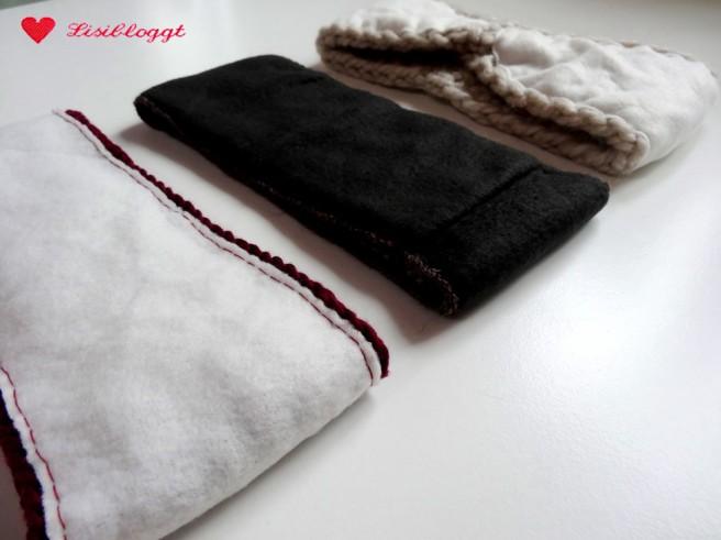 Lisitipps: Wie füttert man ein Stirnband mit Fleece-Stoff?