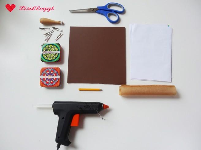 Anleitung: Linolschnitt-Stempel basteln