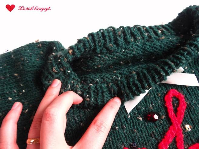 Anleitung: Weihnachts-Pullover stricken