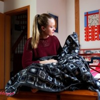 Anleitung: Grannysquare-Decke häkeln