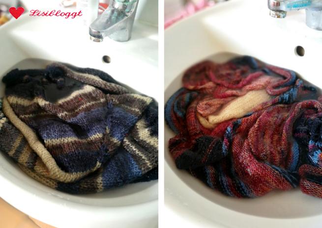 Lisitipps: Strickstuecke waschen und spannen