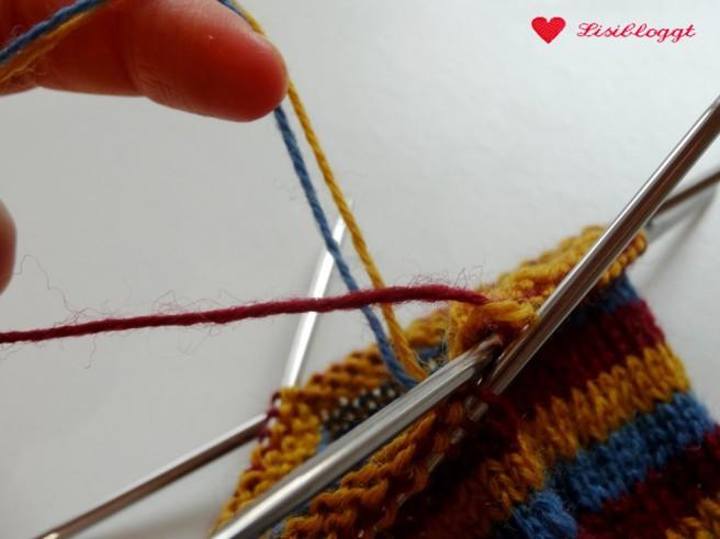 Lisitipps: Streifen stricken ohne Faeden vernaehen