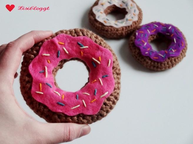 Anleitung: Donuts fuer den Kaufladen haekeln