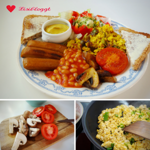 Rezept: English Breakfast fuer Veganer
