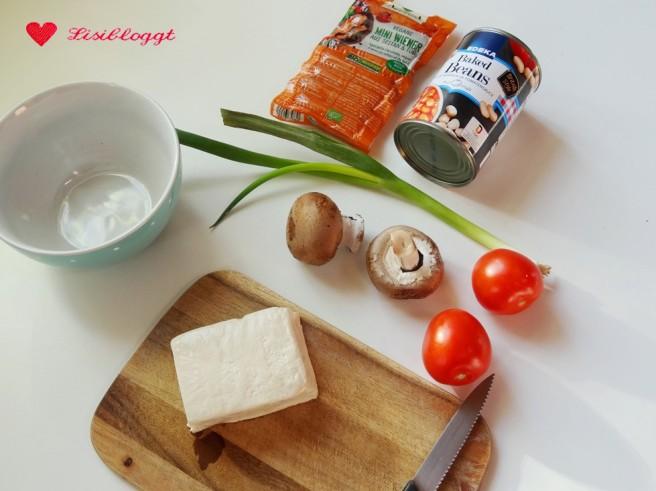 Rezept: English Breakfast fuer Veganer