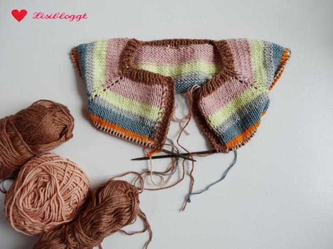 Anleitung: Babyjaeckchen mit Streifen stricken